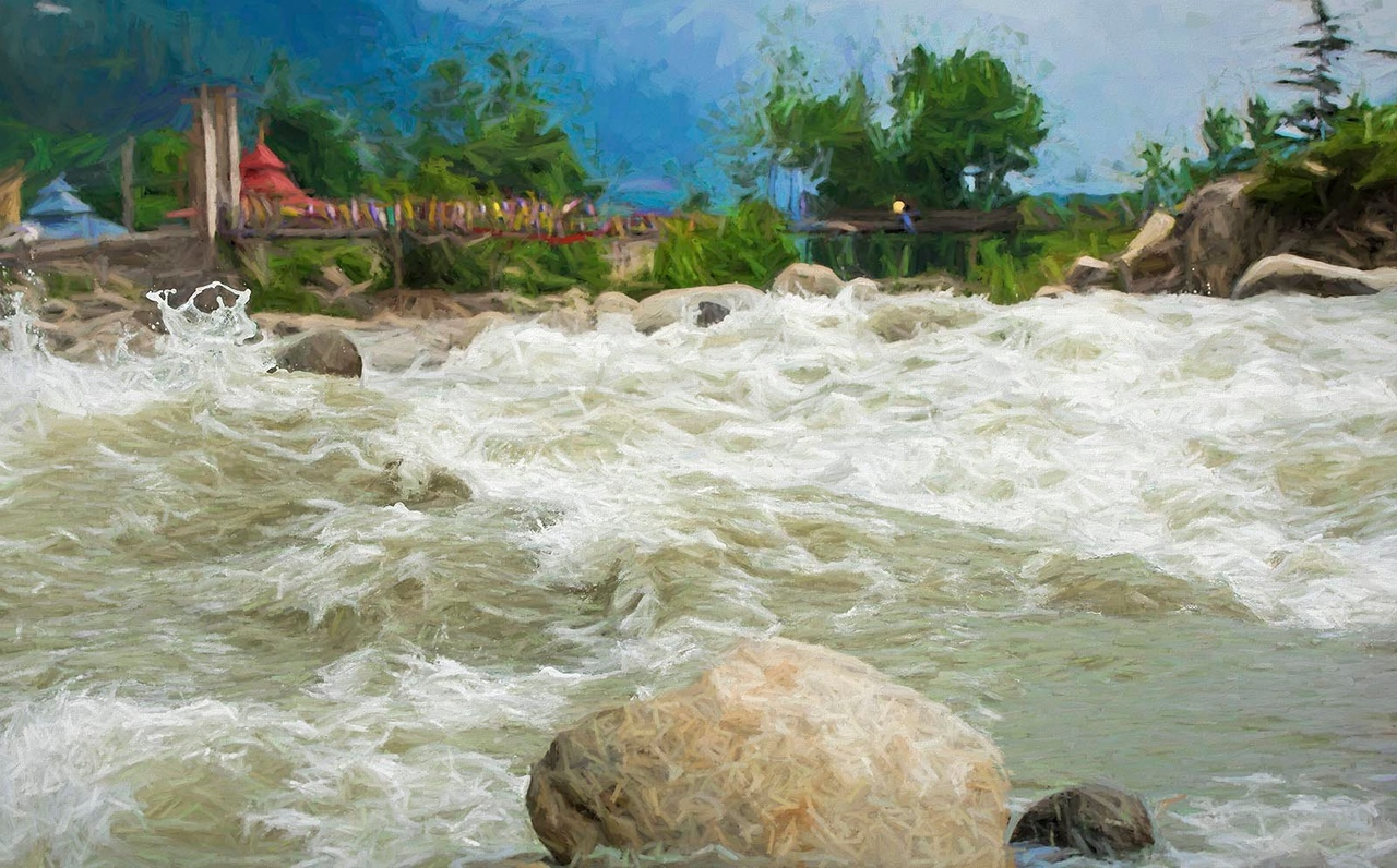 Gushing Waters