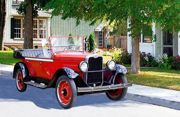 Antique car series