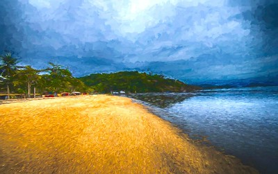 Beach in Paraty