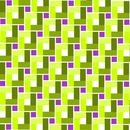 green toned square and violet centre squre pattern - background