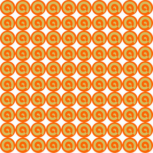 Wallpaper pattern made from circles