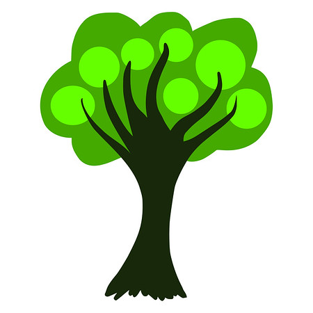 Graphics Tree - icon template