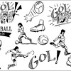 Football (Soccer) Hand Drawn Set