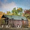 The Old Mack Barn in Autumn