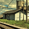 Old Train Station in Spencerville, Ohio