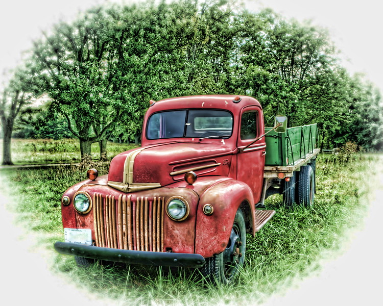 Rock's Old Truck