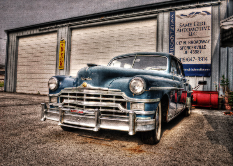 The Chrysler Grille