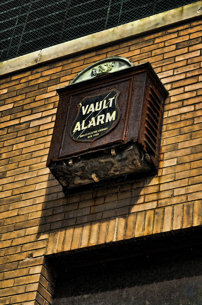Antique Vault Alarm
