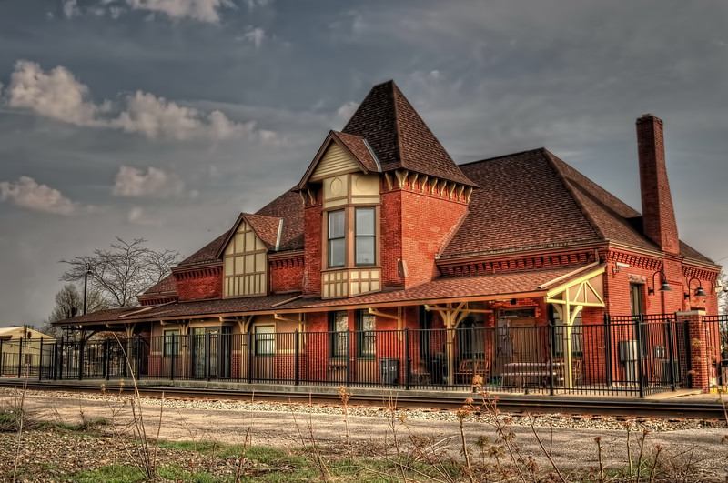 Train Station in Lima ,Ohio