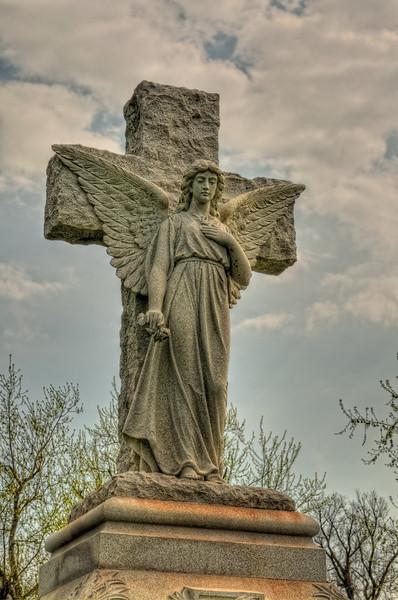 Cemetery Angel Statue