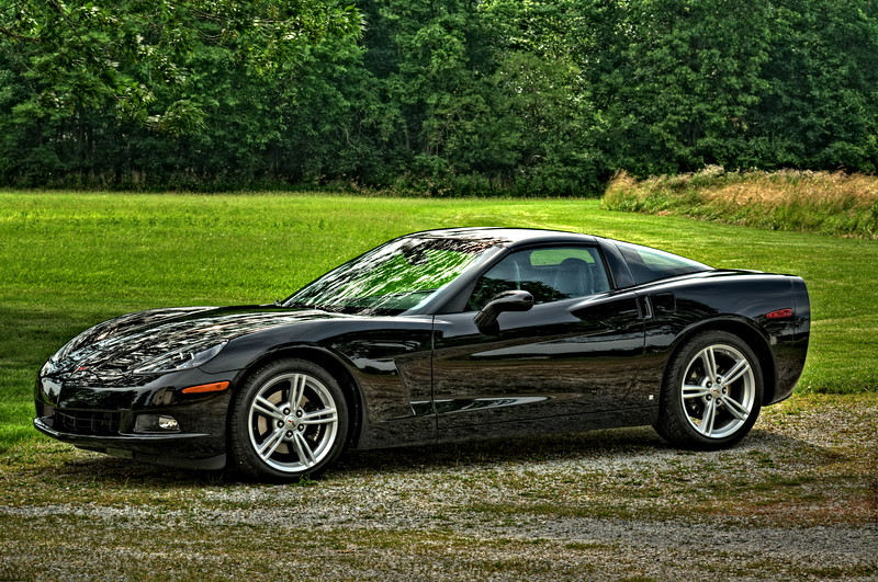 2009 Black Corvette