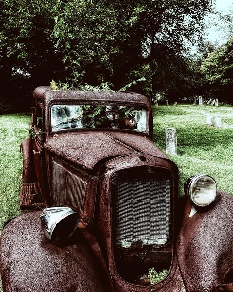 Vintage Coupe Sedan