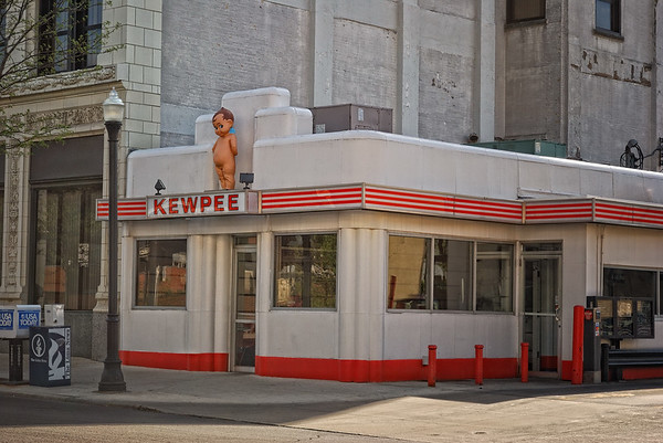 The KEWPEE     locally owned and operated since 1927 in downtown Lima, Ohio.  Can't beat a Kewpee special w/cheese ...fries and a frosted chocolate malt.....It's delicious !!