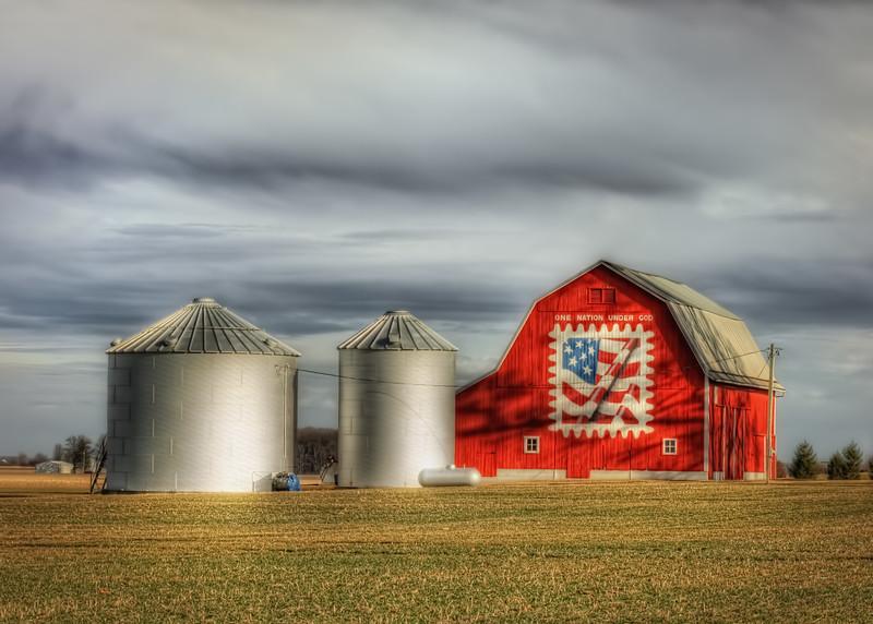Van Wert County Ohio Barn.