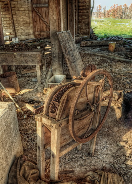 Old Corn Sheller