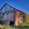 Old Mack Barn....built in 1852... Spencerville Ohio
