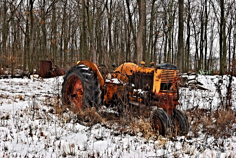 Old Abandoned Tractor in Northwest Ohio
