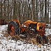 Old Abandoned Tractor in Northwest Ohio
