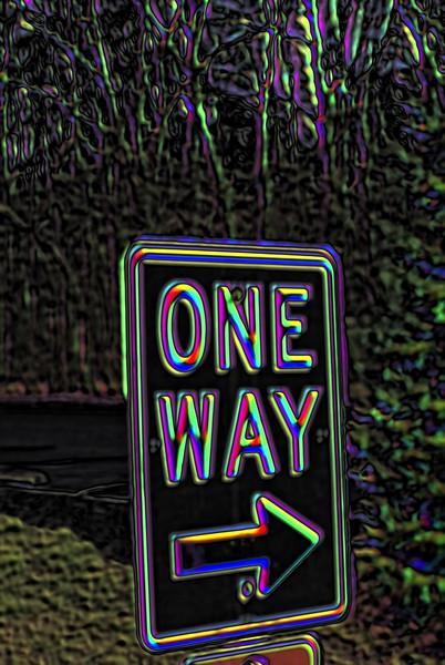 One Way ....you say ?.........OK ..Mine ...I say !!