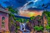 Thunders at the Waterfall