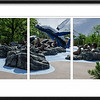 Gary Prill Triptych zoo