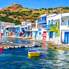 C(!T) Dorothy Sansom Klima Milos Greece Fishing Village