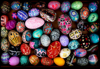 Pysanky Eggs in Box -  Second Place Assigned