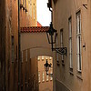 T (3) - Narrow Street in Prague