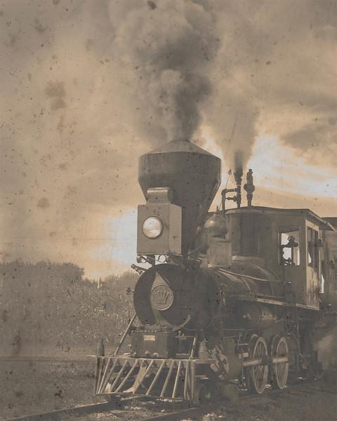 am-Steam Train