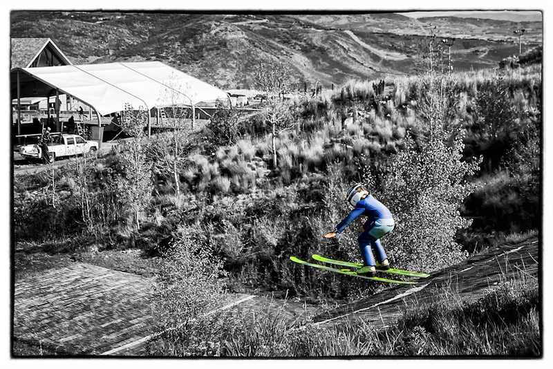 oc-Young Ski Jumper 3rd Larry Headley