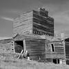 o-long abandoned grain elevator