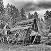 o-spokane ghosttown schoolhouse