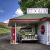 A - Vintage Gas Station