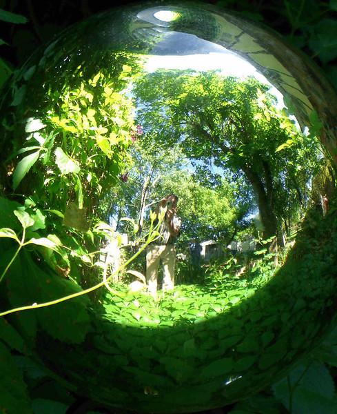 oc-Globe Reflection