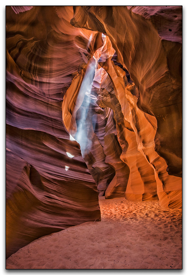 Upper Antelope Canyon - Arizona  -  Third Place (tie)