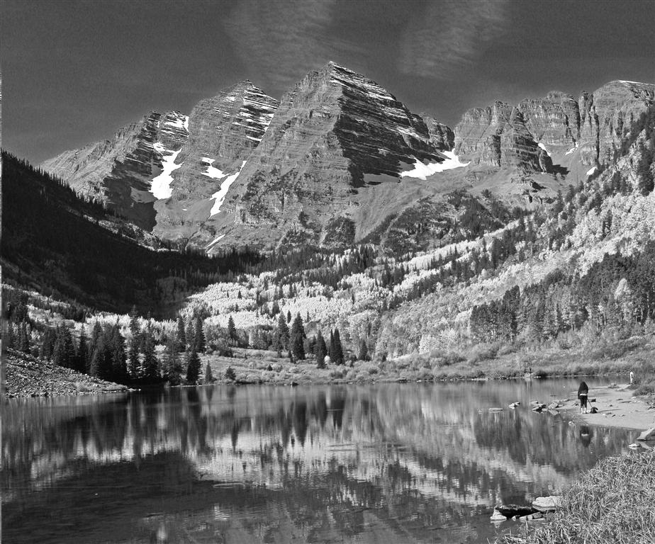 Maroon Bells Grandeur - Colorado  -  Third Place (tie)