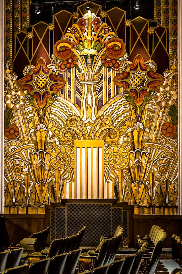 Art Deco  - Flynn Center  -  First Place