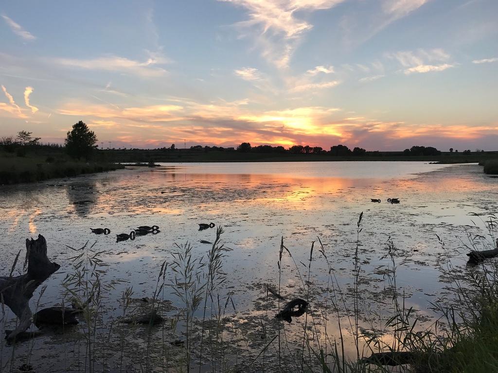 Sunset Over Walnut Creek Lake
