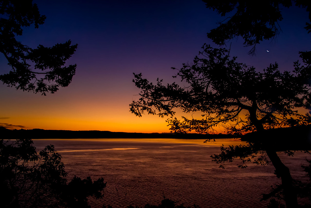 Sunset Moonrise - Third Place