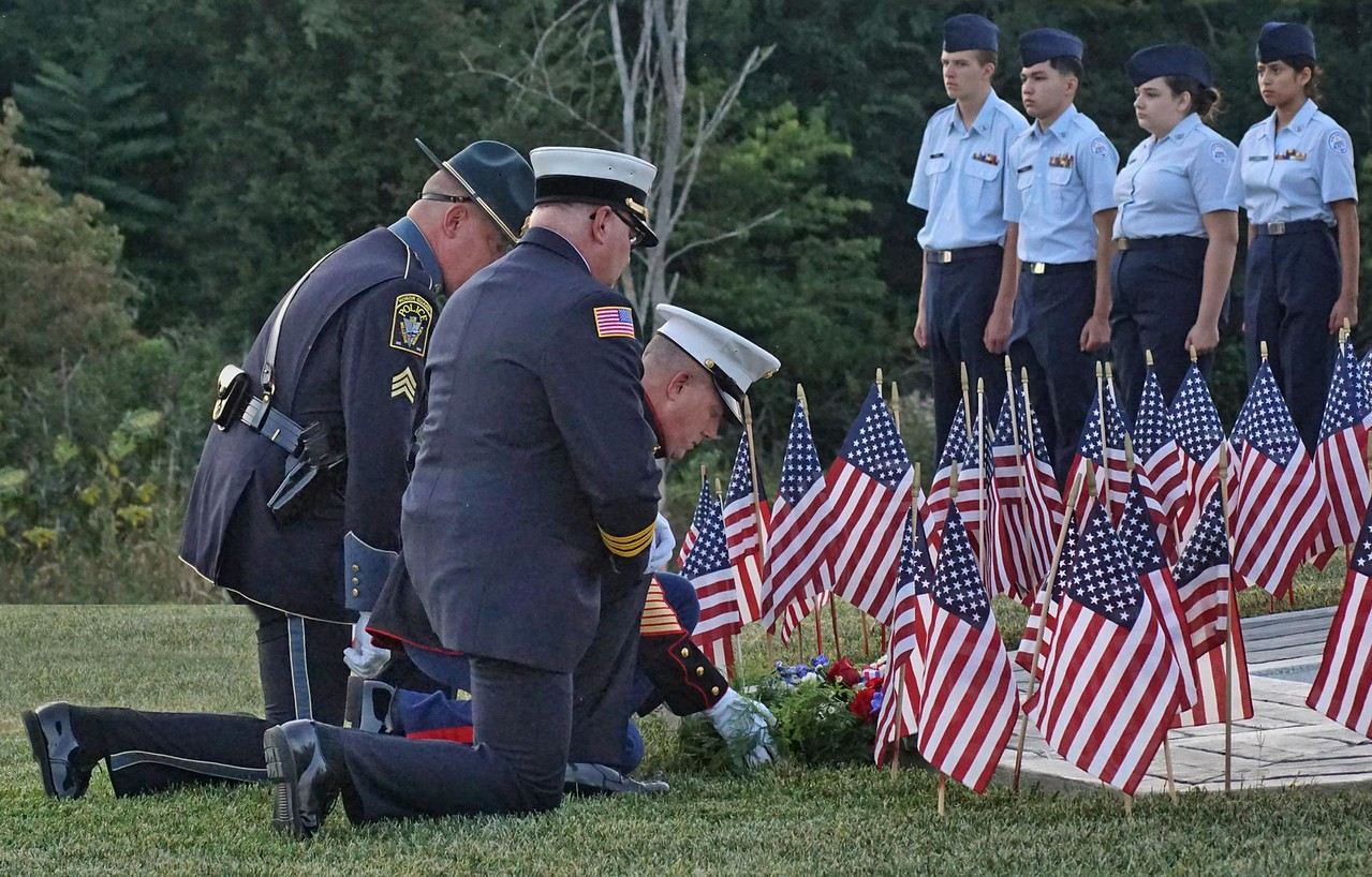 Laying the Wreath - September 11 2017