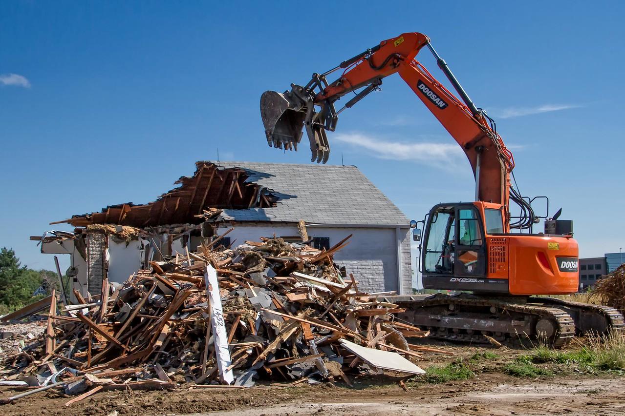 Demolition of 1452