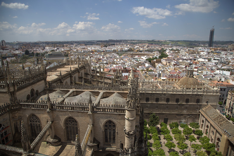 View from Bell Tower - Seville Spain