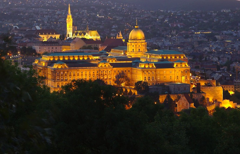 Budapest Castle - First Place (tie)