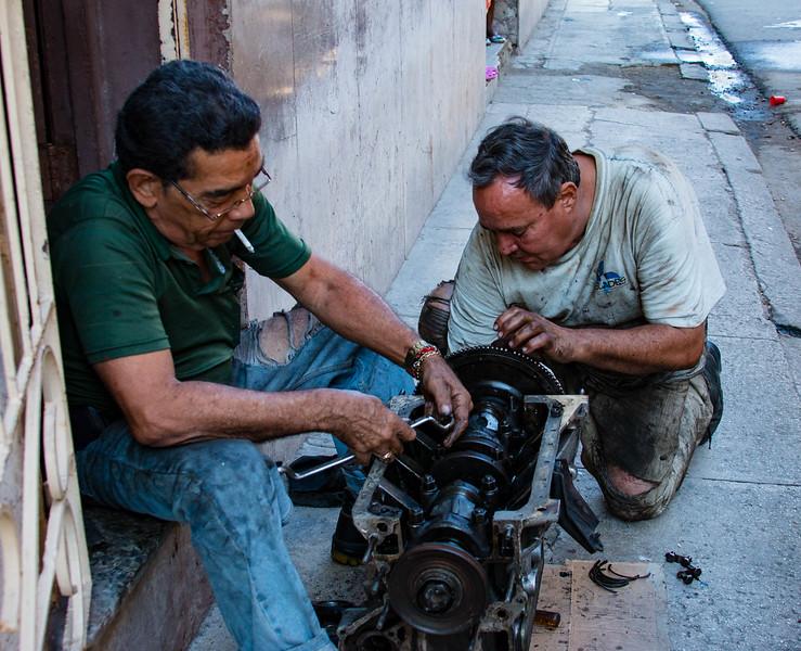 Sidewalk Engine Repair - Third Place