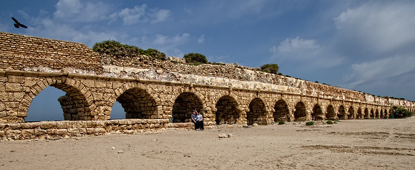 Roman Aqueduct - Israel  - First Place Travel