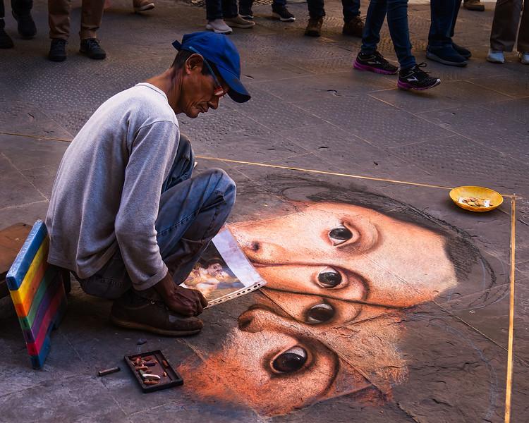 Street Artist - Italy -  Allen Kurth -First Place