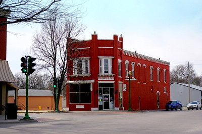 Glenwood Downtown Cornerstone	by Kreg Kinzle