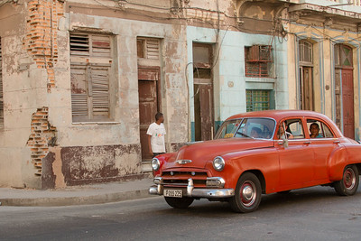 Cuban Taxi	by Donna Turner