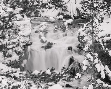 Waterfall in WinterbyDonna Turner