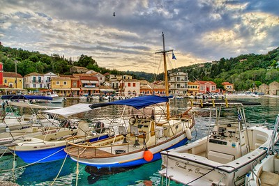 Loggos Greace Harbor	by	Dorothy Sansom